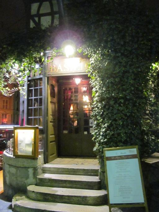 Le Basilic, Rue Lepic