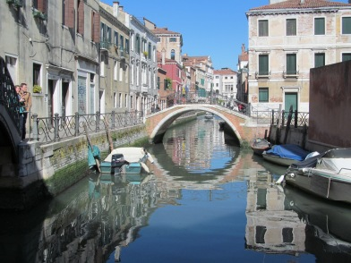venicecanalreflection