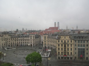 View of Karlsplatz (Stachus)